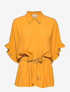 Ariana shirt Boozt - kortermede bluser - golden harvest