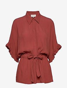 Ariana shirt Boozt - blouses à manches courtes - safran