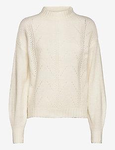 Kala knit pullover - trøjer - broken white