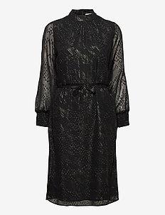 Bessa dress - midi kjoler - sort