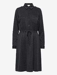 Isabella dress - midi kjoler - sort