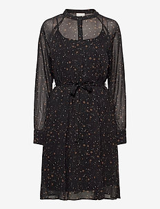 Elsa dress - midi kjoler - moon print