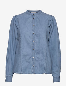 Camil shirt - jeansblouses - denim
