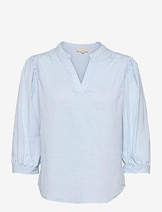 Kira blouse - langærmede bluser - powder blue