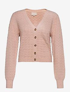 Diana knit cardigan - vesten - lavender frost