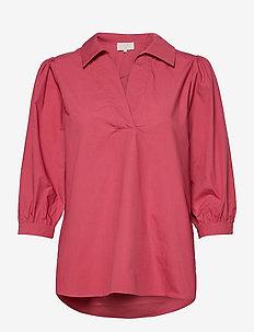 Mindi tunic - langærmede bluser - pink lemonade