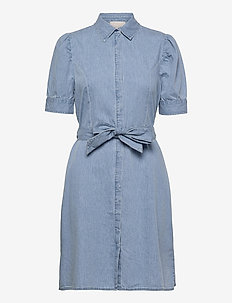 Nikia shirt dress - shirt dresses - powder blue
