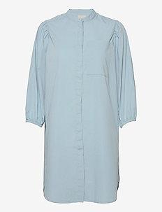 Milta shirt dress - skjortekjoler - powder blue