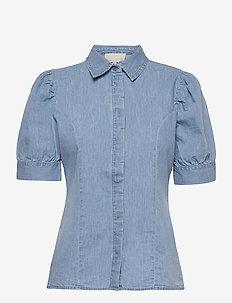 Nikia shirt - jeansblouses - powder blue