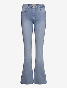 New enzo jeans - flared jeans - light denim