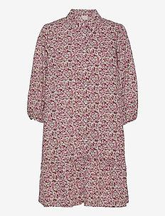 Rasmina dress - sommerkjoler - pink flower print