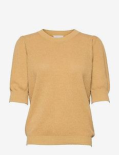 Jossa knit tee - strikkede toppe - prairie sand