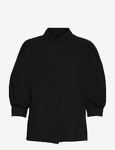 Rinoa shirt - long sleeved blouses - sort
