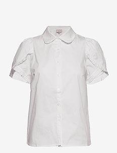 Missy shirt - lyhythihaiset paidat - cloud dancer
