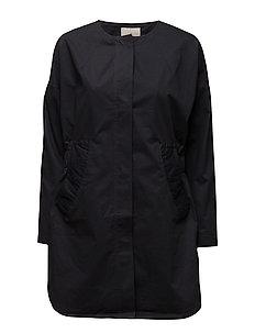 Vica coat - BLACK IRIS