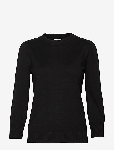 Mersin knit tee - sweaters - sort