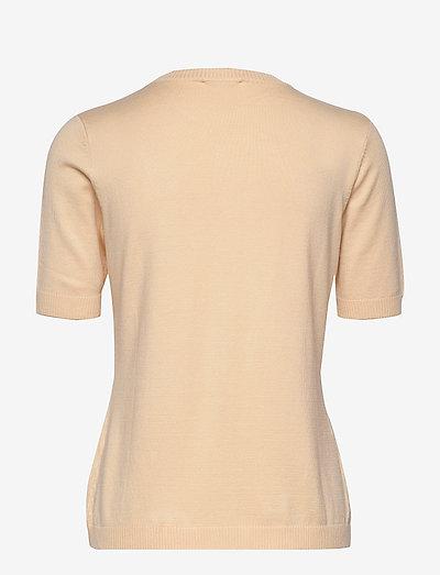 Minus Pamela Knit Tee- T-shirty I Topy Vanilla