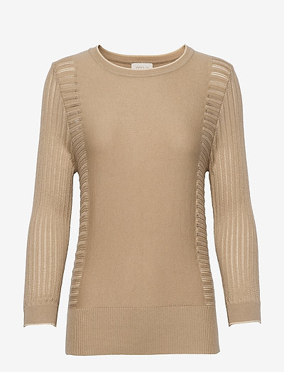Ria knit pullover - sweaters - nomad sand