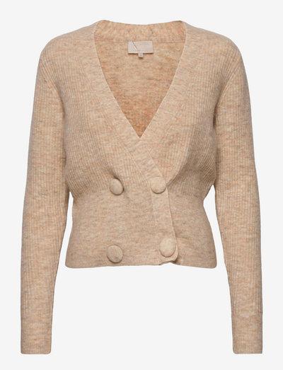 Milia knit pullover - cardigans - nomad sand melange