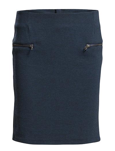 Louis skirt - BLACK IRIS
