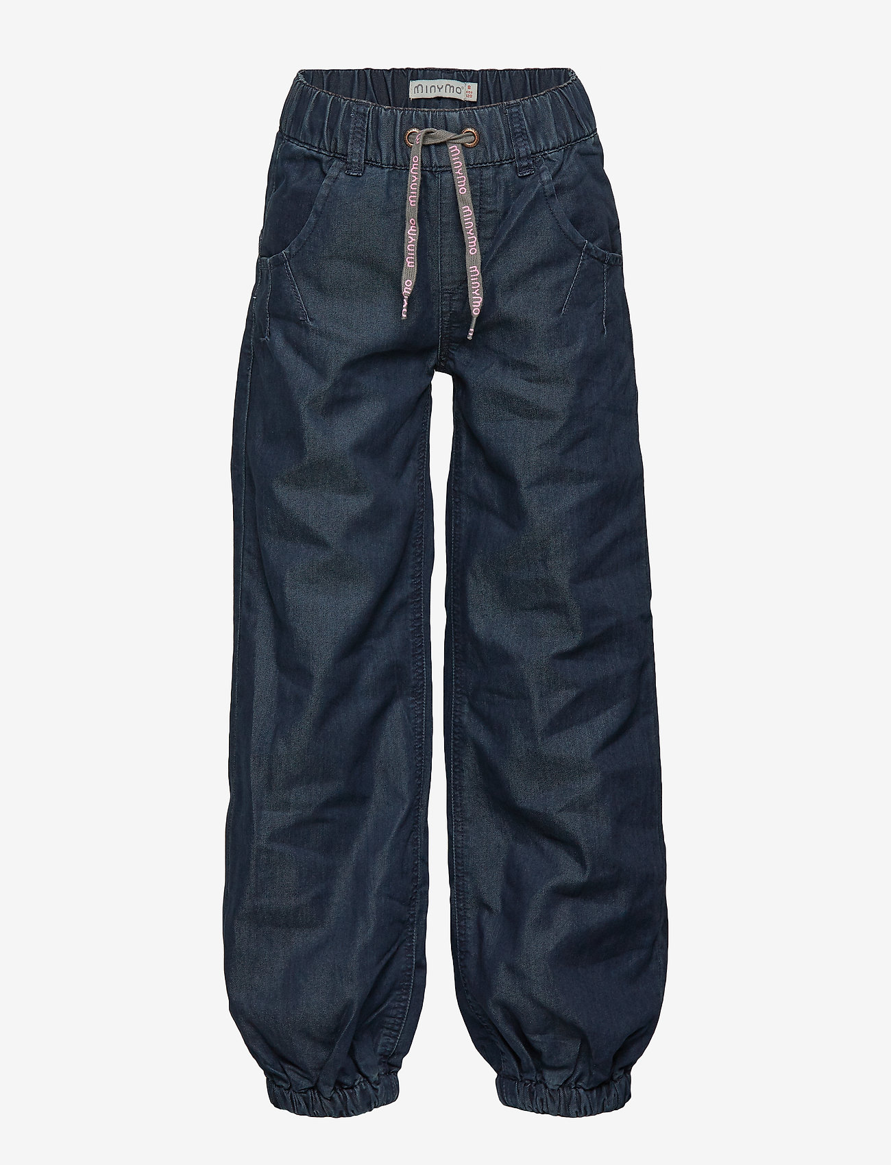 Minymo - Baggy pant -GIRL - broeken - dark blue - 0