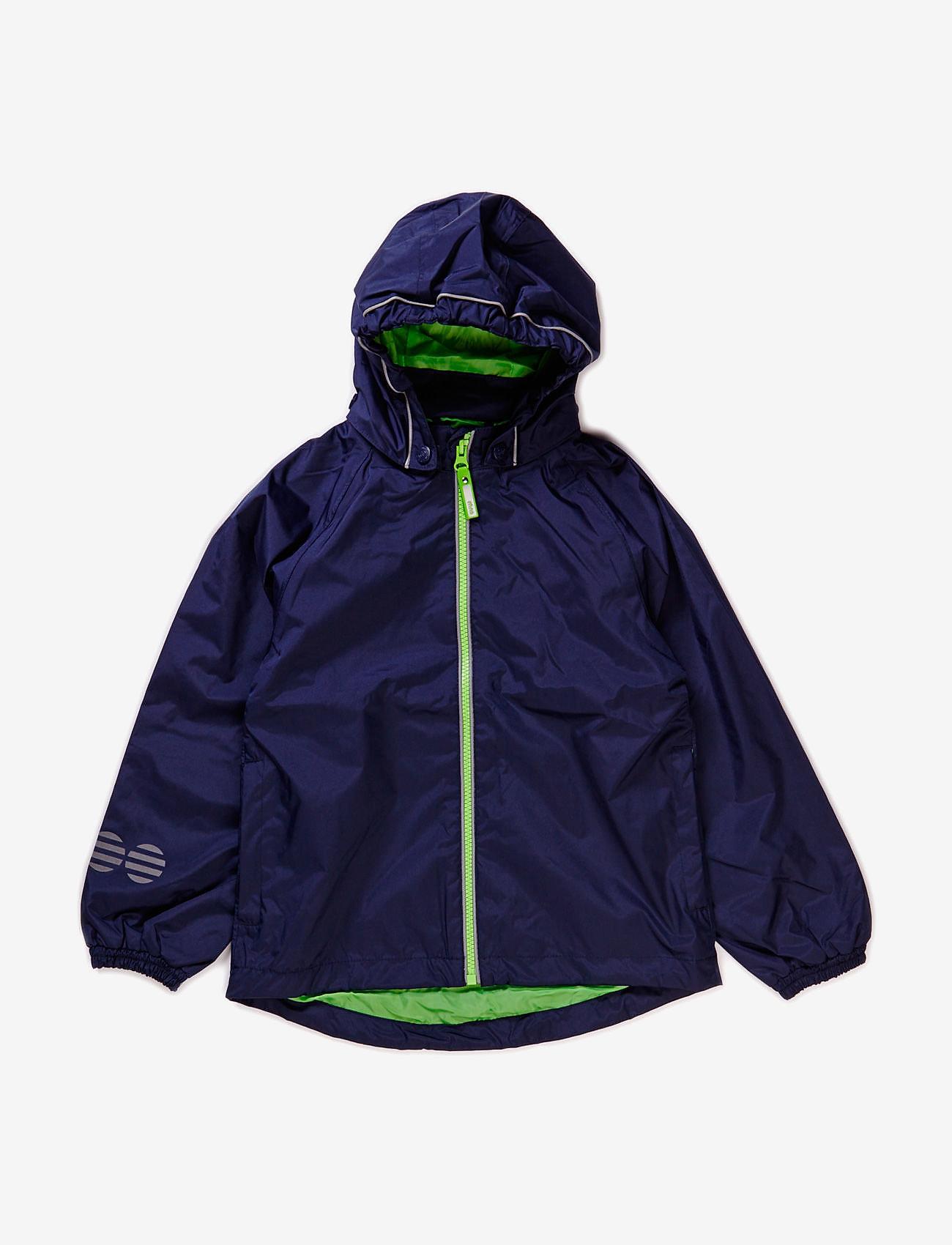 Minymo - Raincoat, breathable - jakker - dark navy - 0