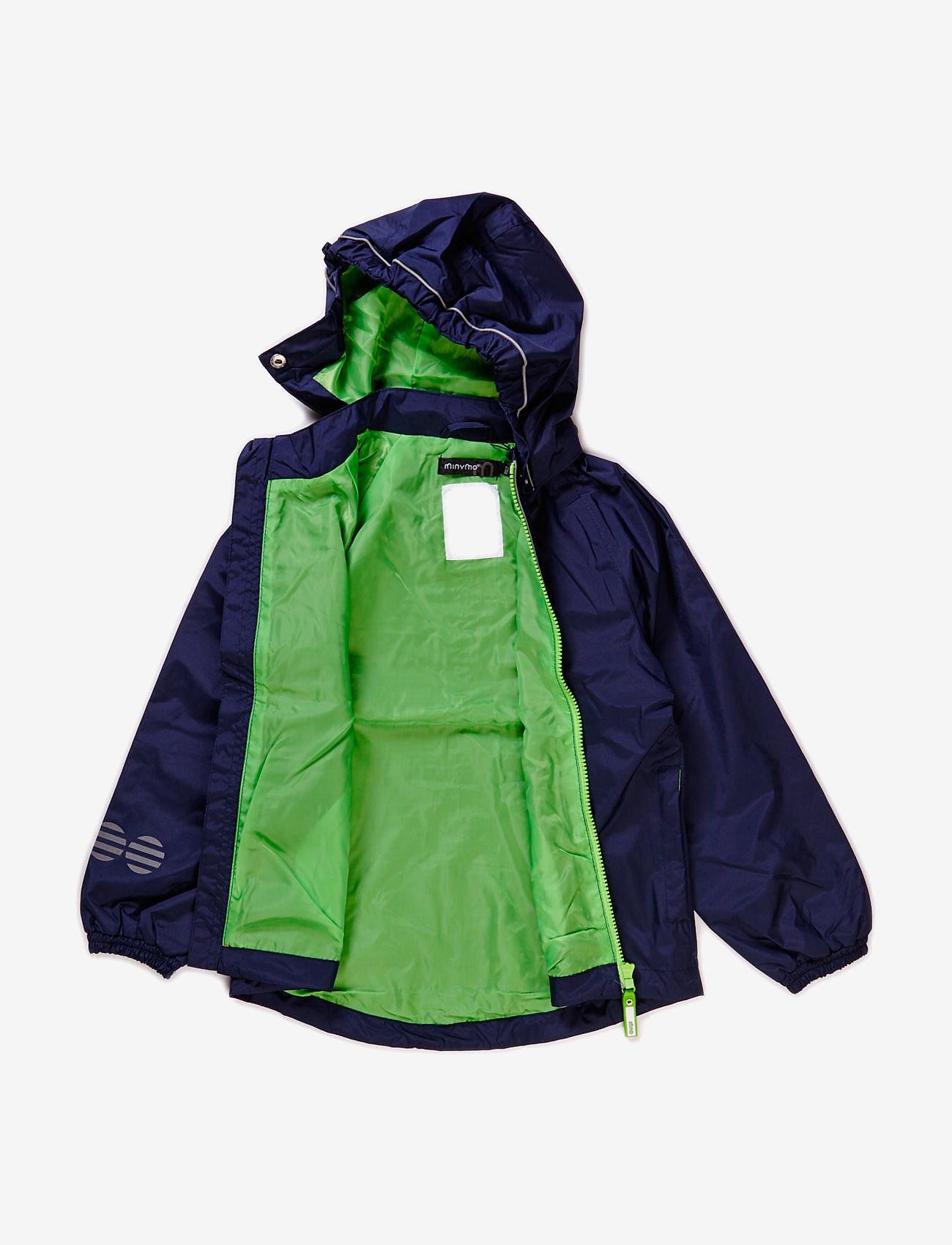 Minymo - Raincoat, breathable - jakker - dark navy - 1