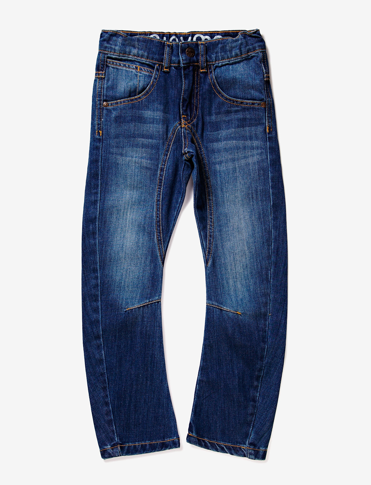 Minymo - Jeans boy - Engineer fit - jeans - denim - 0