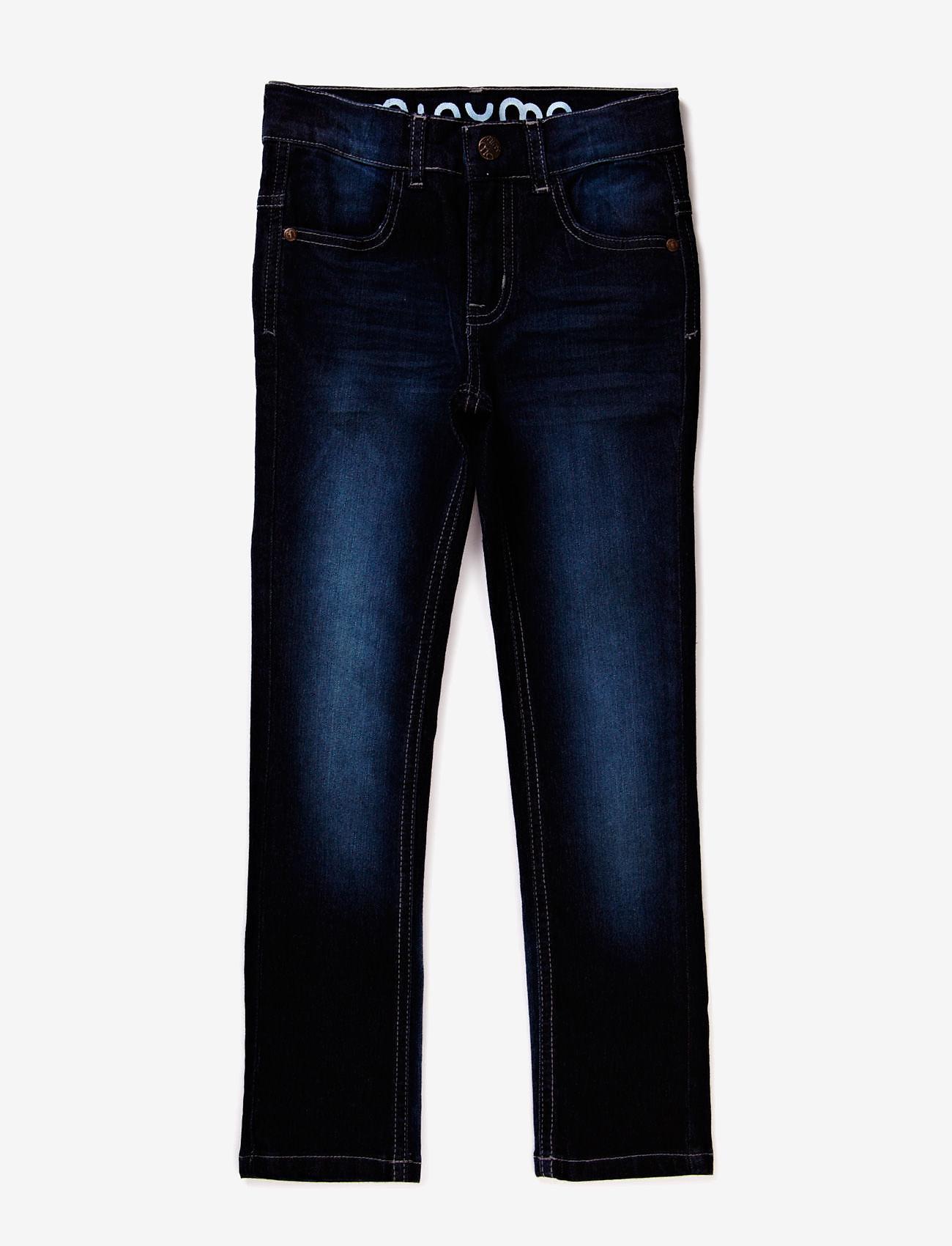 Minymo - Jeans boy Malvin - Slim fit - farkut - dark blue denim - 0