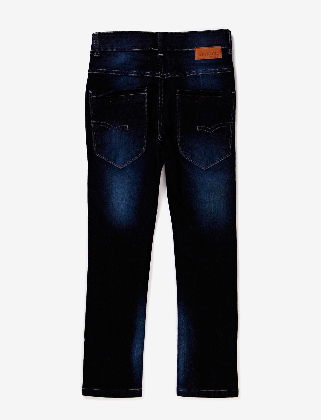 Minymo - Jeans boy Malvin - Slim fit - dżinsy - dark blue denim - 1