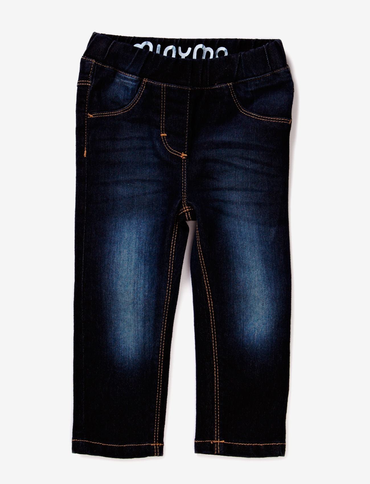 Minymo - Jeans girl - Slim fit - jeans - dark blue denim - 0
