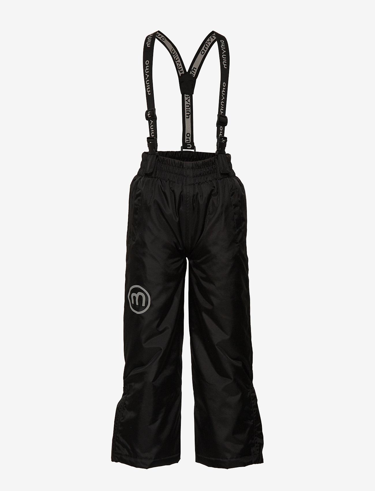 Minymo - Basic 55 -Snowpant -solid - winterbroeken - black - 0