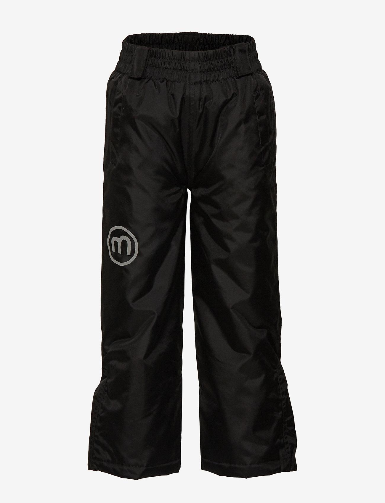 Minymo - Basic 55 -Snowpant -solid - winterbroeken - black - 1