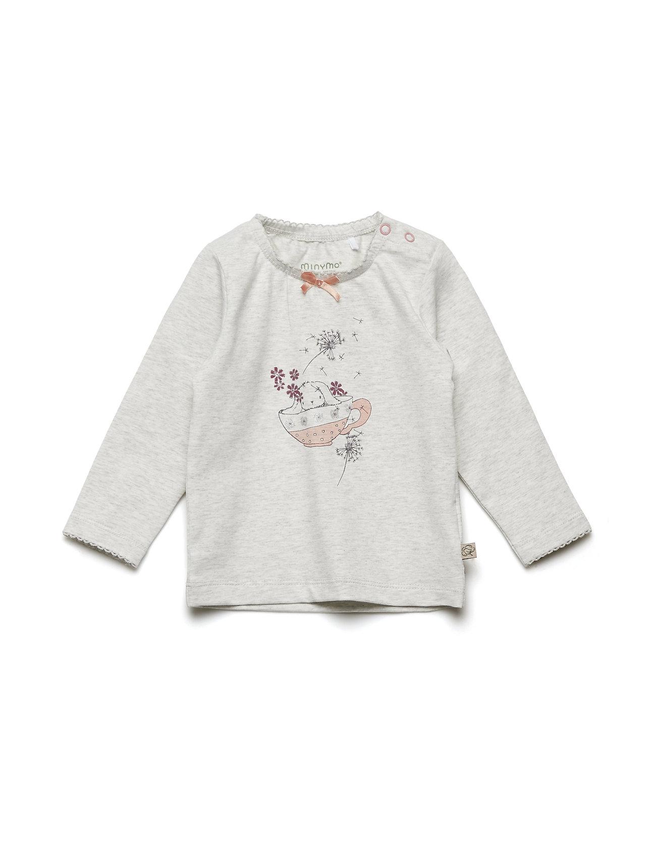 T-Shirt Ls W. Print - Minymo