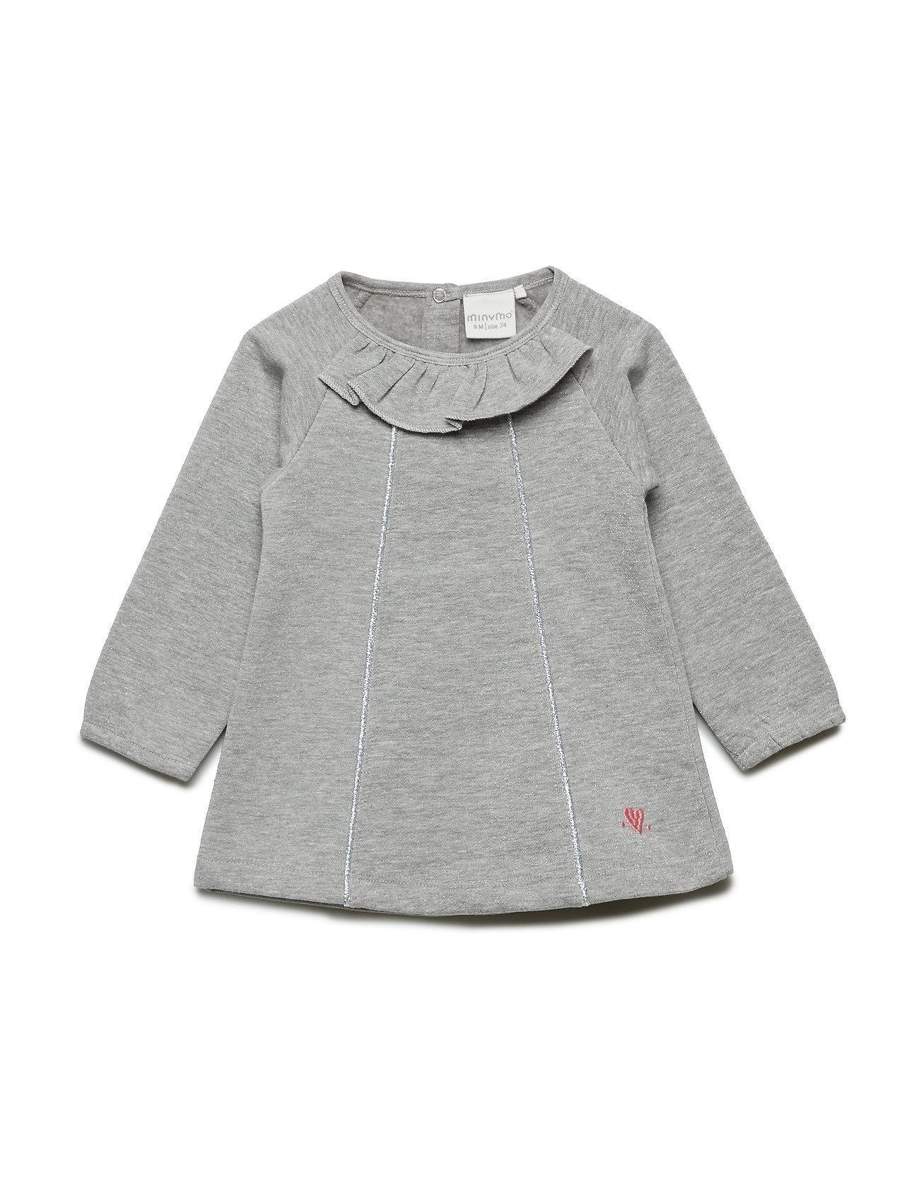 Sweat Dress Ls - Minymo