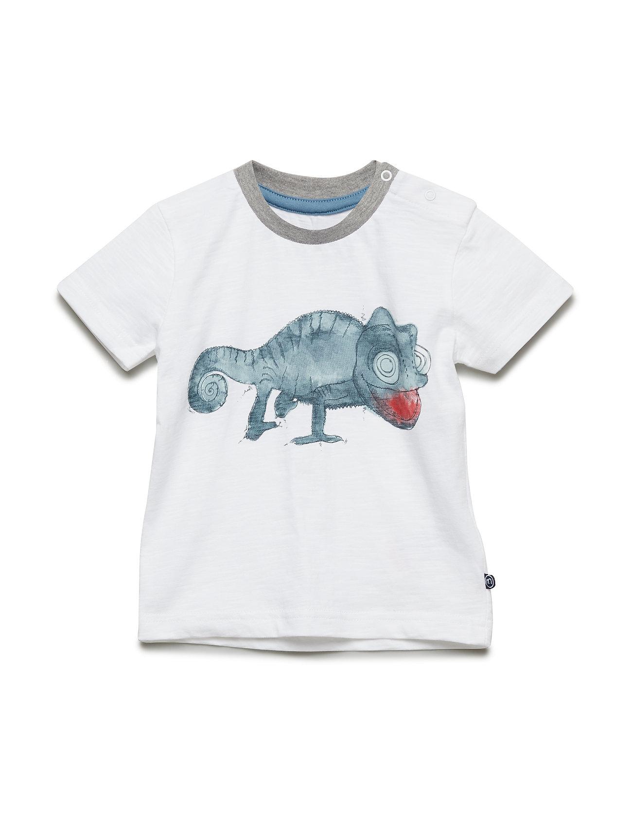 Minymo T-Shirt  SS - BRIGHT WHITE