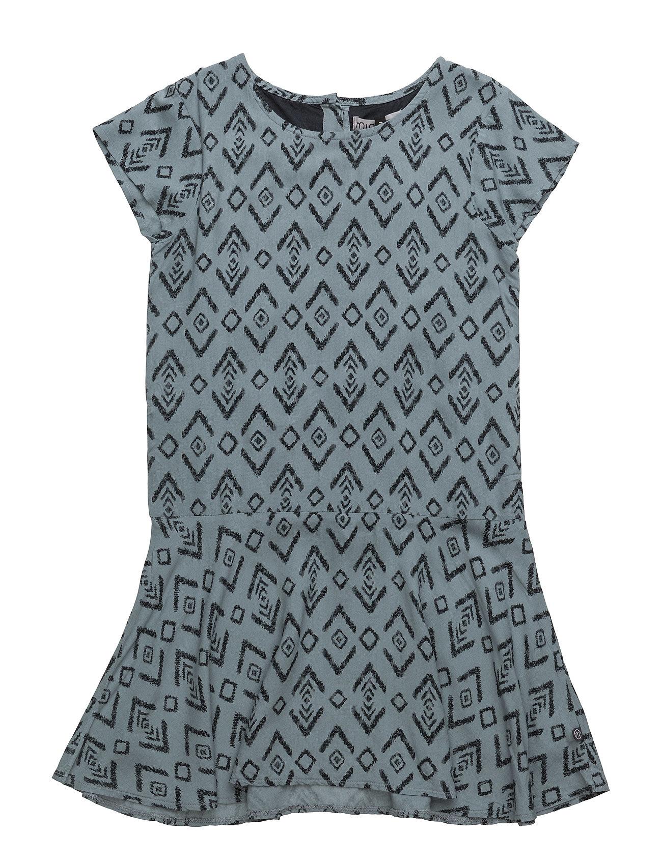 Image of 45 -Dress W. Aop Kjole Blå Minymo (2427697995)