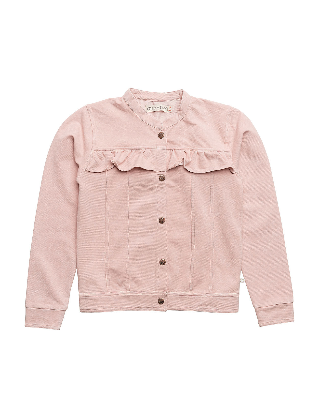 Minymo Jacket knit denim - ROSE CLOUD