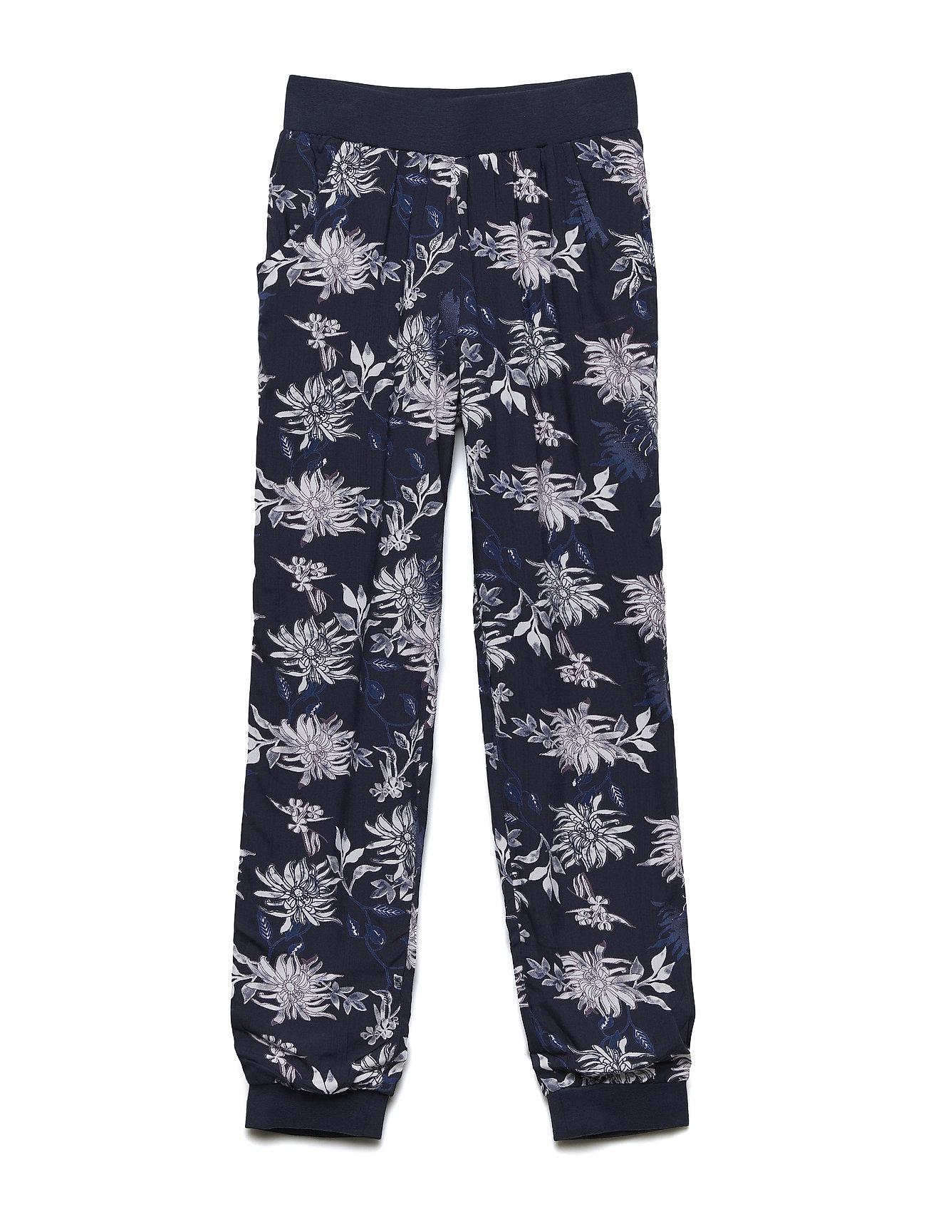 Pants W. Flower Aop - Minymo