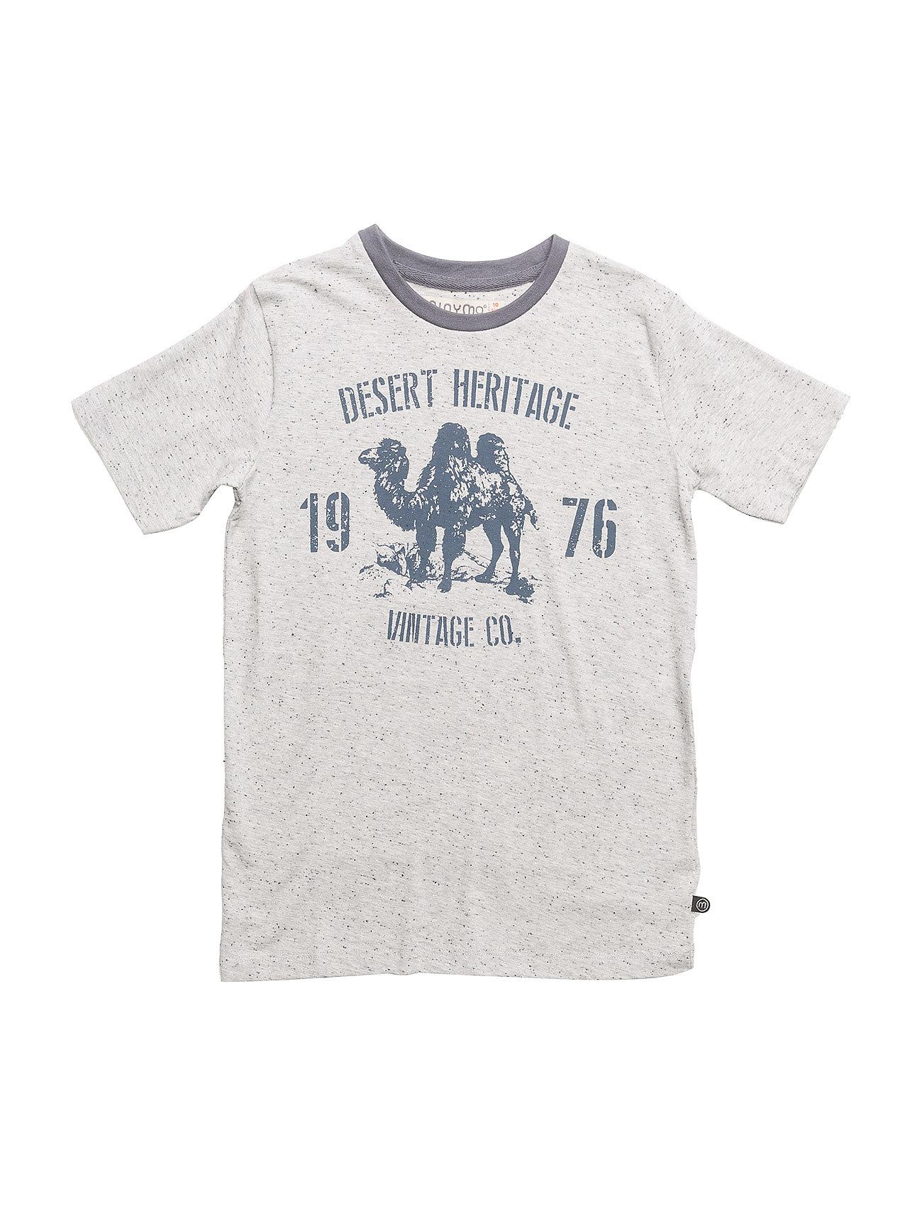 Poul 91 - T-Shirt Ss W. Print - Minymo
