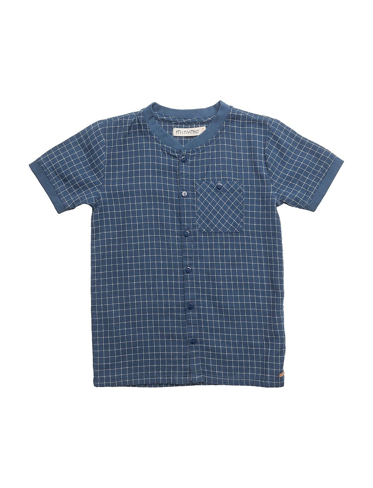 Shirt Ss Y/D Check - Minymo