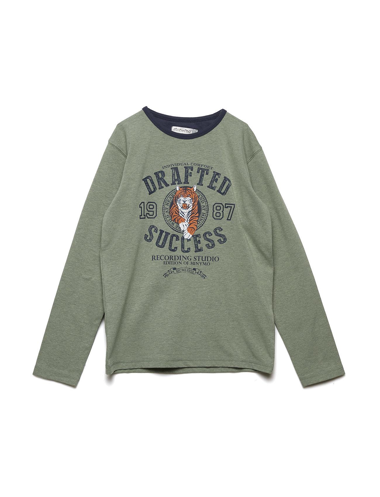T-Shirt Ls W. Tiger - Minymo