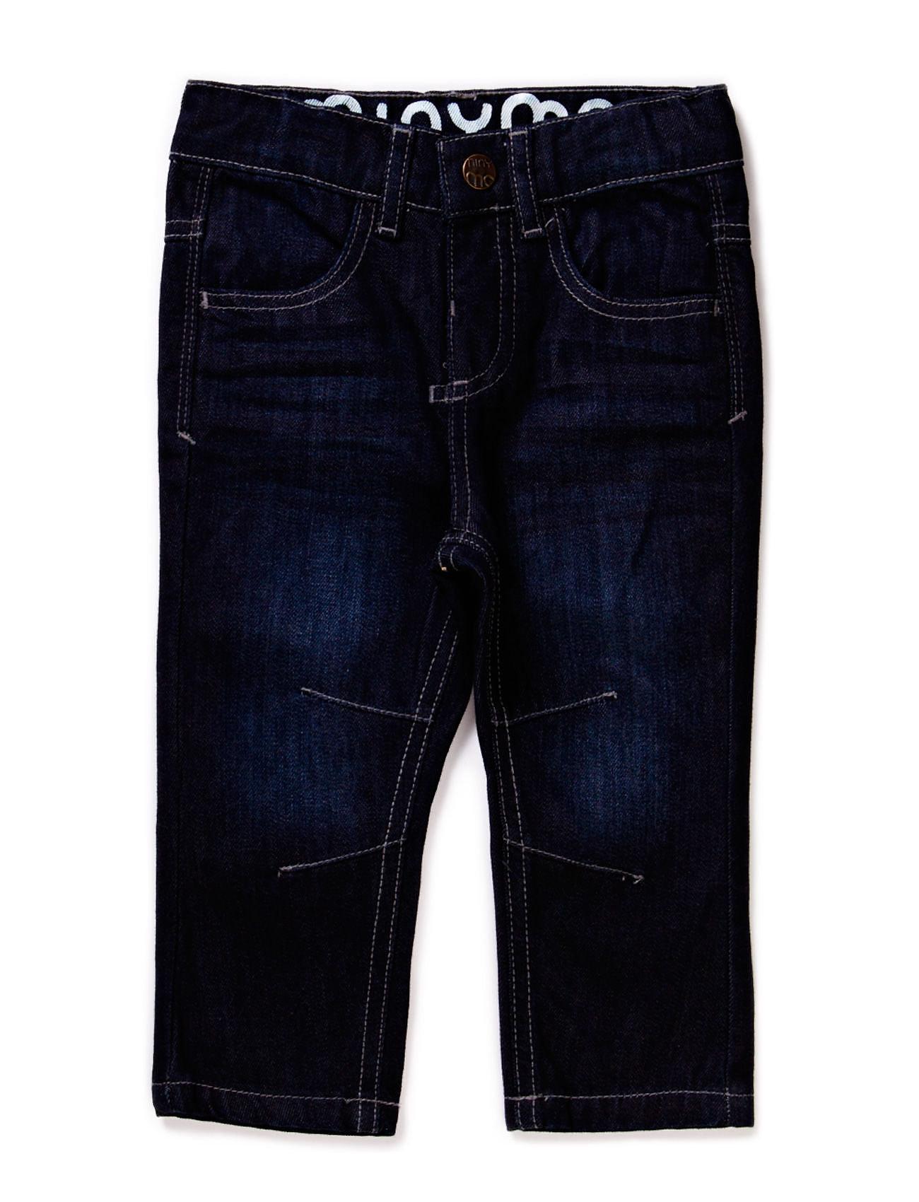 Minymo Jeans boy - Regular engineer - DARK BLUE DENIM