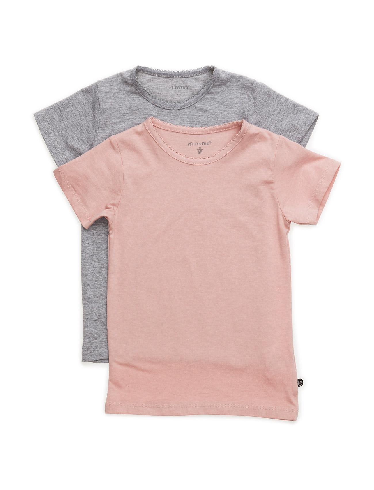 Basic T-Shirt Ss (2-Pack) - Minymo