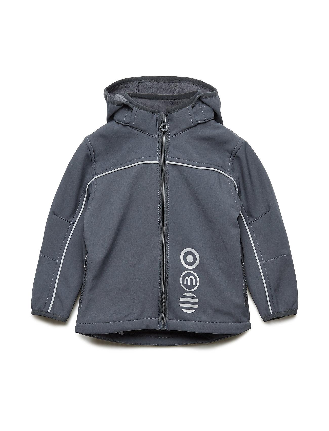 Minymo Basic 45 -Softshell jakke - DEEP STONE GREY