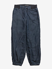 Minymo - Baggy denim pant -BOY - broeken - dark blue - 0