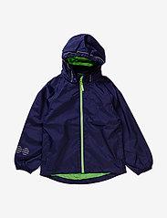 Minymo - Raincoat, breathable - jackets - dark navy - 0