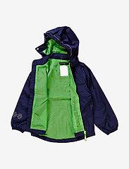 Minymo - Raincoat, breathable - jackets - dark navy - 1