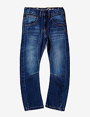 Minymo - Jeans boy - Engineer fit - dżinsy - denim - 0