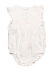 Playsuit NS w. AOP - PEACH BLUSH
